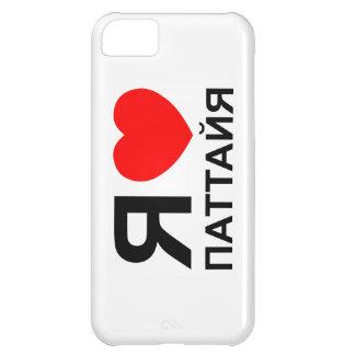 I ruso del ~ de Pattaya del corazón [amor] Funda iPhone 5C