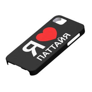 I ruso del ~ de Pattaya del corazón [amor] Funda Para iPhone SE/5/5s