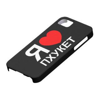 I ruso del ~ de Phuket del corazón [amor] [Пхукет] Funda Para iPhone SE/5/5s