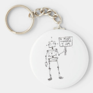 I Rust, Therefore, I Am... Keychain