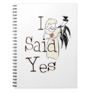 I Said Yes Notebook