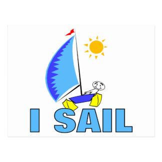 I Sail Postcard