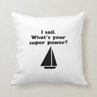 I Sail Super Power Pillow