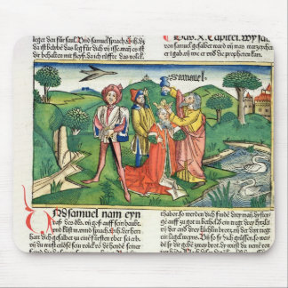 I Samuel 10 The coronation and annointing of Saul, Mouse Pad
