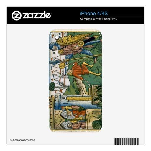 I Samuel 17 1-58 David defeats Goliath and meets S iPhone 4 Decal