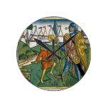I Samuel 17 1-58 David defeats Goliath and meets S Round Clock