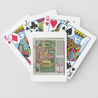 I Samuel 1:8 Elkanah comforts Hannah, from the 'Nu Bicycle Playing Cards
