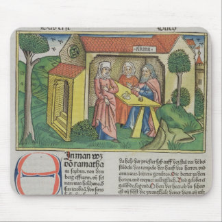 I Samuel 1:8 Elkanah comforts Hannah, from the 'Nu Mouse Pad
