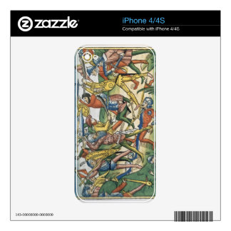 I Samuel 28 1-2 The Philistines war against Israel Skin For The iPhone 4S