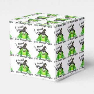 I sapo usted tengo siempre razón cajas para regalos de boda