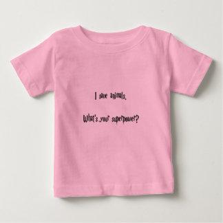 I Save Animals Baby T-Shirt
