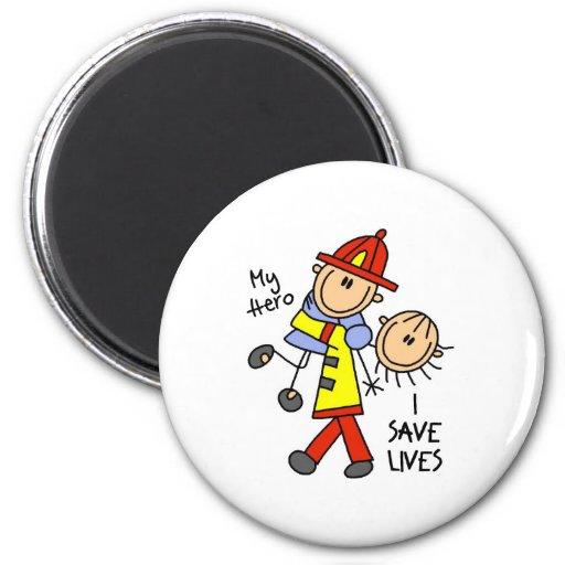 I Save Lives Magnet