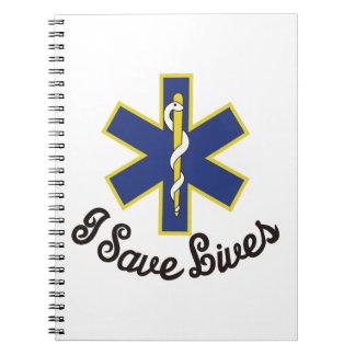 I Save Lives Spiral Notebook