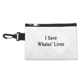 I Save Whales Lives Accessories Bags