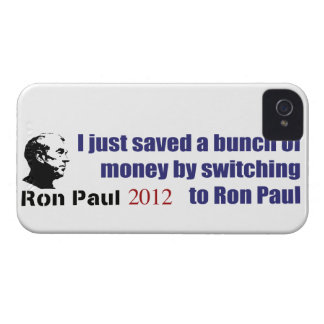 I Saved A Bunch Of Money Switching To Ron Paul iPhone 4 Case-Mate Case