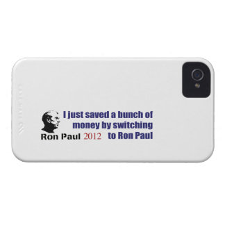 I Saved A Bunch Of Money Switching To Ron Paul iPhone 4 Cover