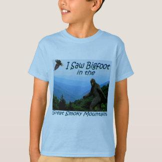 I Saw Bigfoot - Great Smoky Mountains Kids T-Shirt