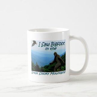 I Saw Bigfoot..Great Smoky Mtns Coffee Mug