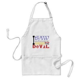 I Saw Goody Osbourne w/ The Devil Adult Apron