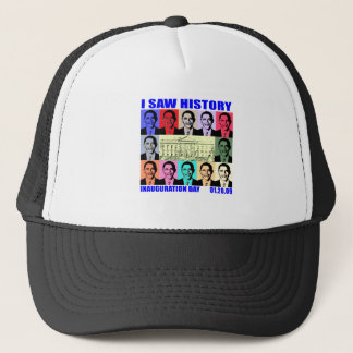 I Saw History Trucker Hat