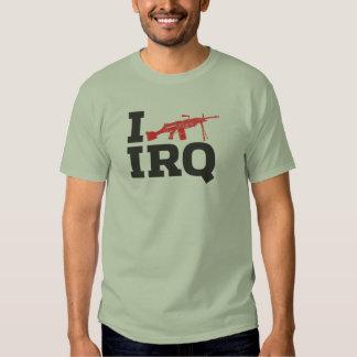 I SAW IRAQ T SHIRT