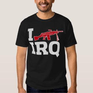 I SAW IRAQ TEES