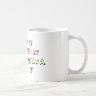 I saw it, I wanted it, I asked Nonna, I got it Coffee Mug