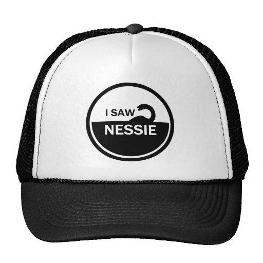 I SAW NESSIE - LOCH NESS MONSTER TRUCKER HATS
