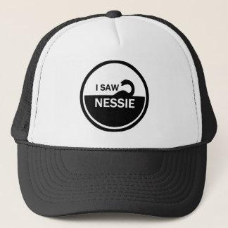 I SAW NESSIE - LOCH NESS MONSTER TRUCKER HAT