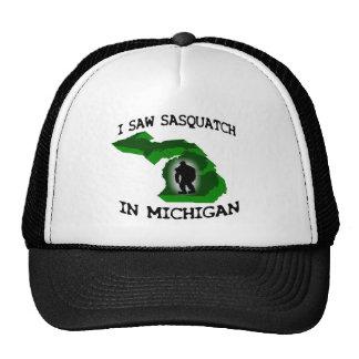 I Saw Sasquatch In Michigan Trucker Hat