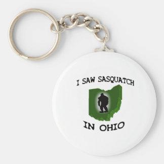 I Saw Sasquatch In Ohio Keychain