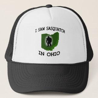 I Saw Sasquatch In Ohio Trucker Hat