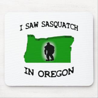I Saw Sasquatch In Oregon Mouse Pad