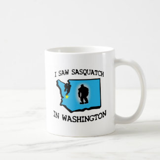 I Saw Sasquatch In Washington Coffee Mug