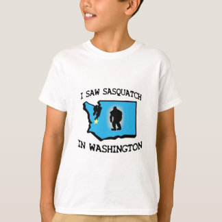 I Saw Sasquatch In Washington T-Shirt