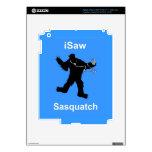 i Saw Sasquatch Music Decal For iPad 3