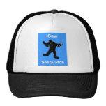 i Saw Sasquatch Music Hat