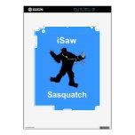 i Saw Sasquatch Music iPad 2 Skin