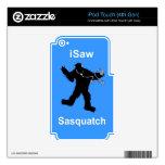 i Saw Sasquatch Music iPod Touch 4G Skin