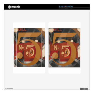 I Saw the Figure 5 in Gold Kindle Fire Skin