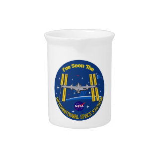 I Saw The ISS!! Drink Pitcher