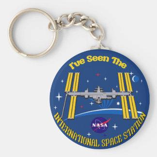 I Saw The ISS!! Keychain