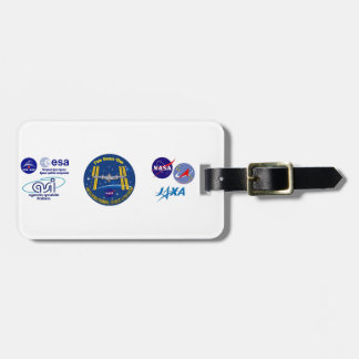 I Saw The ISS!! Luggage Tag