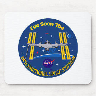I Saw The ISS!! Mouse Pad
