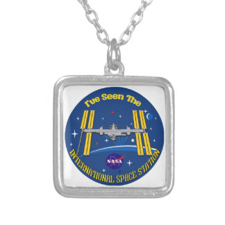 I Saw The ISS!! Necklaces