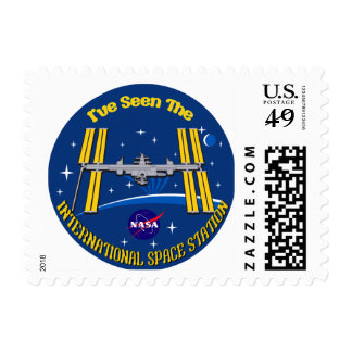 I Saw The ISS!! Postage