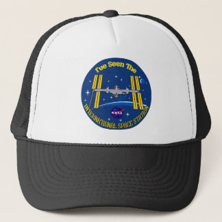 I Saw The ISS!! Trucker Hat