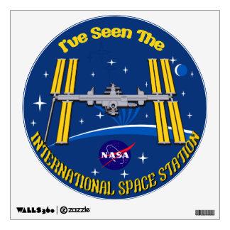 I Saw The ISS!! Wall Sticker