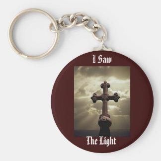 I Saw The Light! - Keychain Basic Round Button Keychain