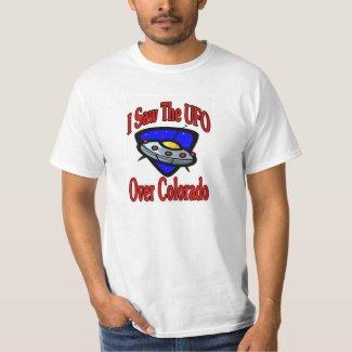 I Saw UFO, Colorado T-Shirt